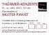 Eintrittskarten Konzerte im THÜRMER-SAAL